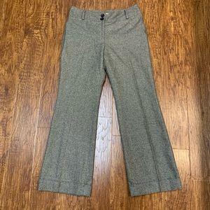 LOFT tweed dress pants trousers size 6P